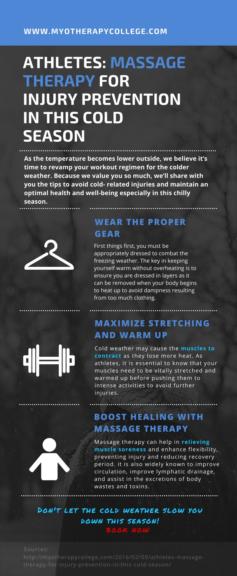 Check out the ways to avoid coldrelated injuries in this