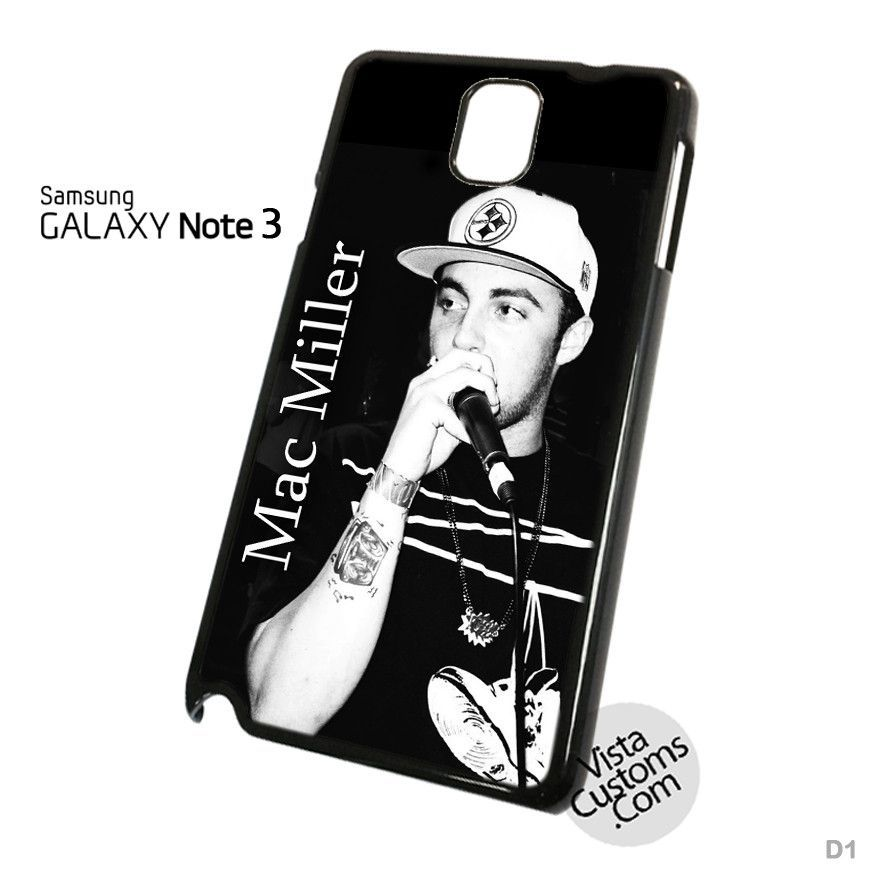 Mac Miller Phone Case For Apple, iPhone 4, 4S, 5, 5S, 5C, 6, 6 +, iPod, 4 / 5, iPad 3 / 4 / 5, Samsung, Galaxy, S3, S4, S5, S6, Note, HTC, HTC One, HTC One X, BlackBerry, Z10