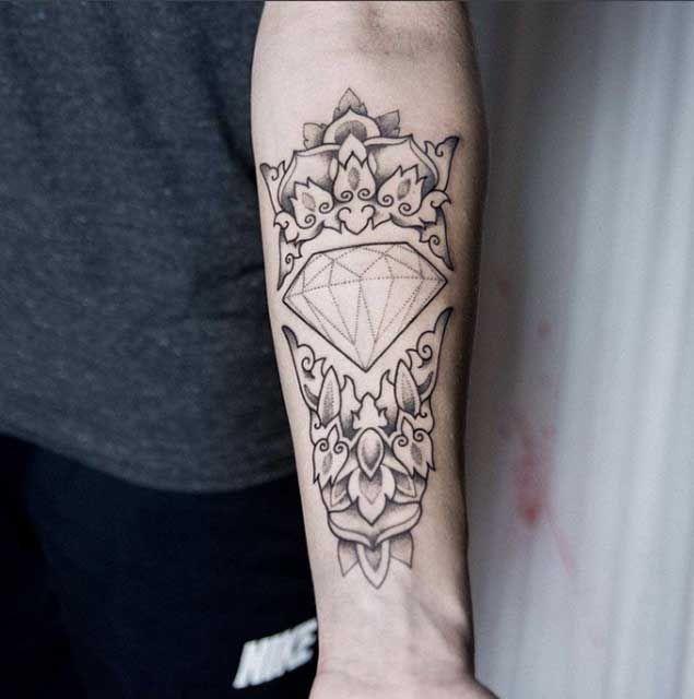 diamond tattoo designs ideas - photo #33