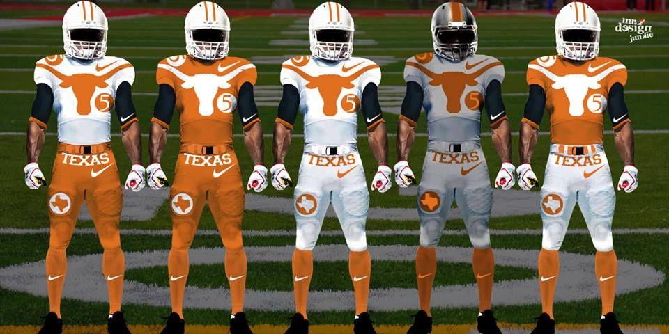 the best attitude c5e36 a50b4 Texas Longhorn Uniform Concept Designs - Show Your Stripes ...