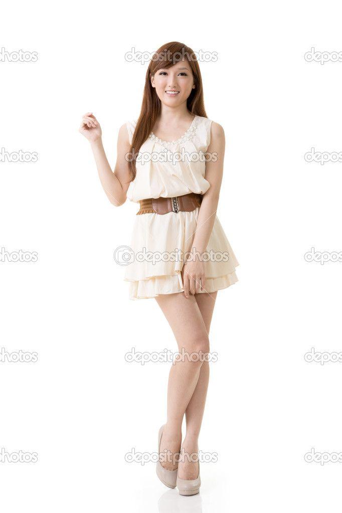 beleza asiática - Imagem Stock: 22923876