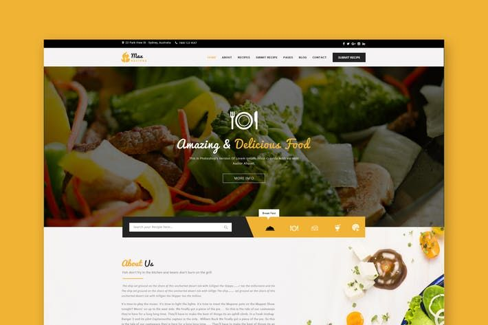 Food recipes psd template bakers food download http1envato food recipes psd template bakers food download http1 forumfinder Choice Image