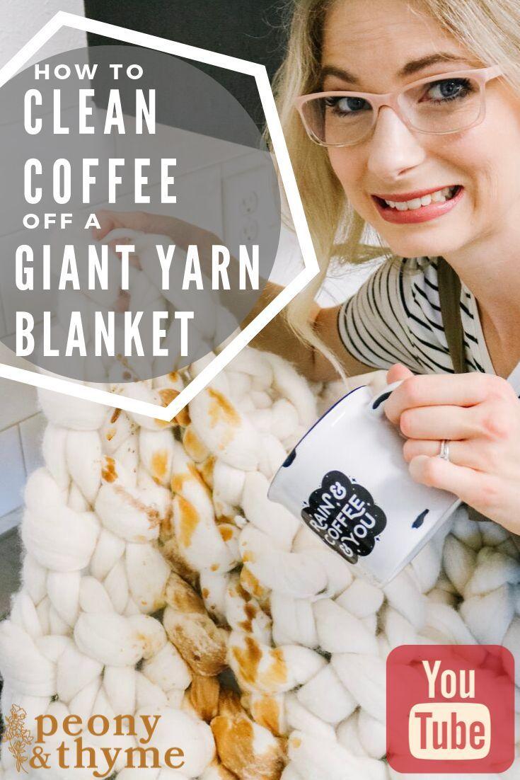 how to wash yarn blankets