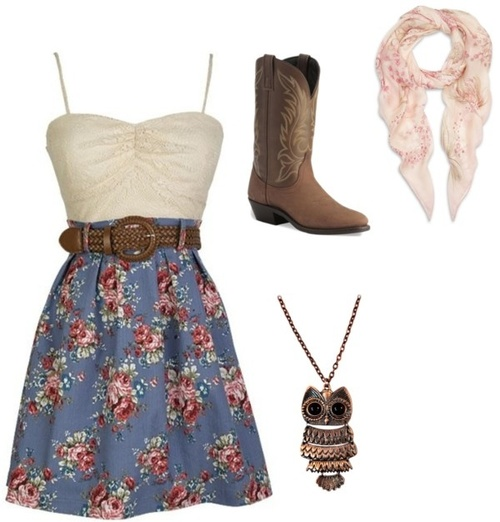 Summer cowgirl outfit