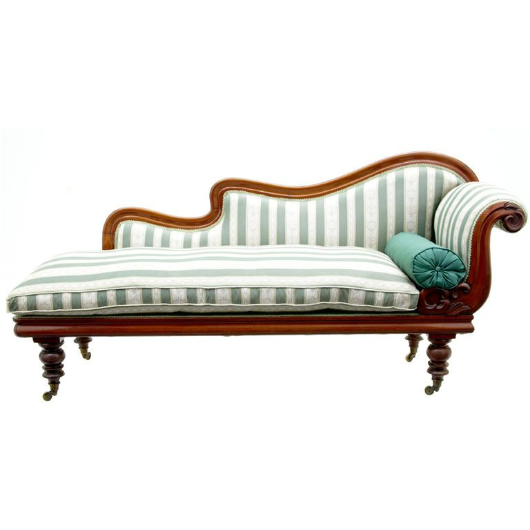 Mid Victorian Mahogany Chaise Lounge Day Bed House Ideas