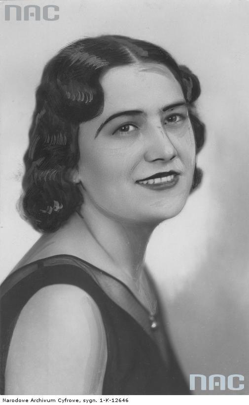 Waleria Chmielówna Miss Katowic 1931 Line