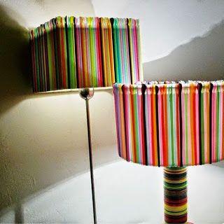 Lampu Dari Sedotan Dekorasi Rumah Buatan Sendiri Kreatif Ide