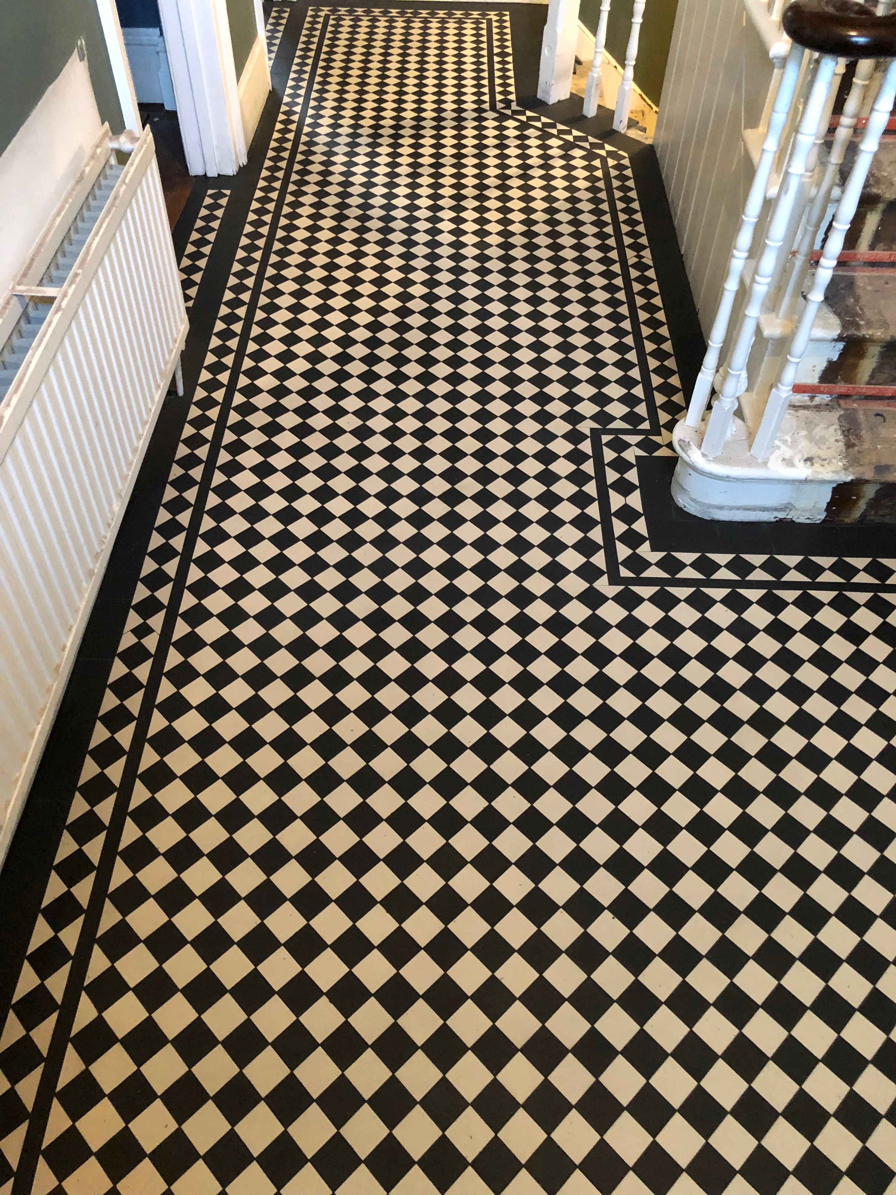 Victorian Mosaic Floor Tiles Hicompany Home Pinterest