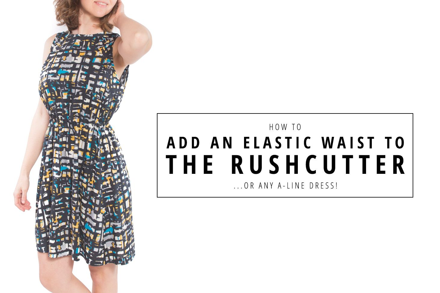 How to Add an Elastic Waist to the Rushcutter   Sewing (Closures ...