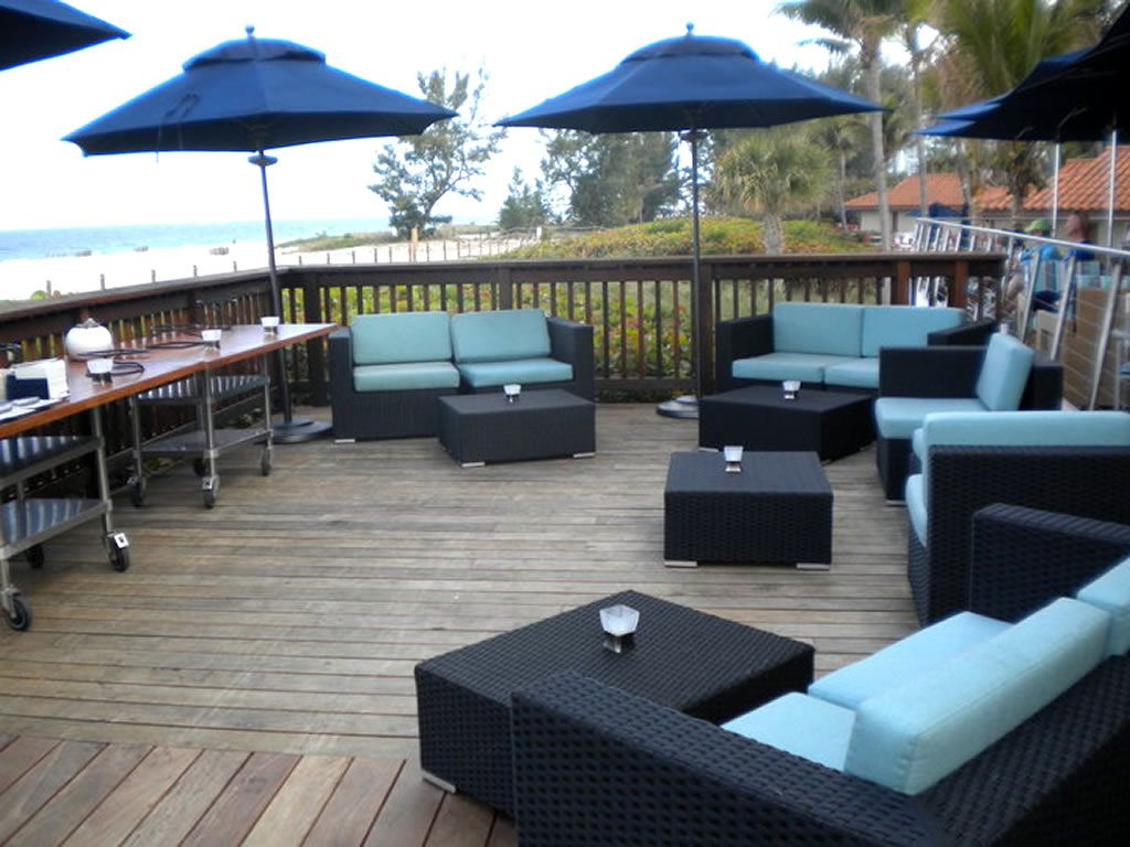 Modern Restaurant Outdoor Furniture And Outdoor Lounge