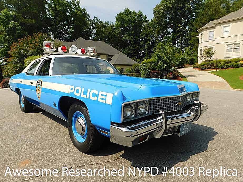 1973 Chevrolet Bel Air NYPD Police CAR (With images