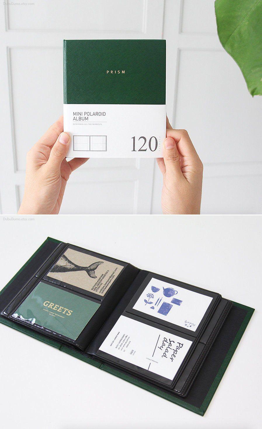 Instax mini album 120pockets business card book photo
