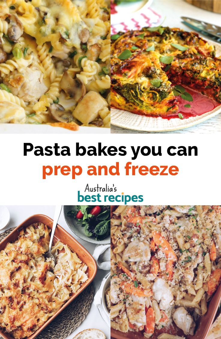 19 pasta bake recipes you can prep and freeze in 2020