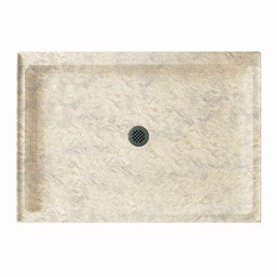 Kohler Memoirs Ice Grey Acrylic Shower Base Common 34 In W X 48