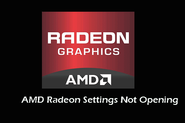 4 Solutions To Amd Radeon Settings Not Opening Not Open Amd Solutions