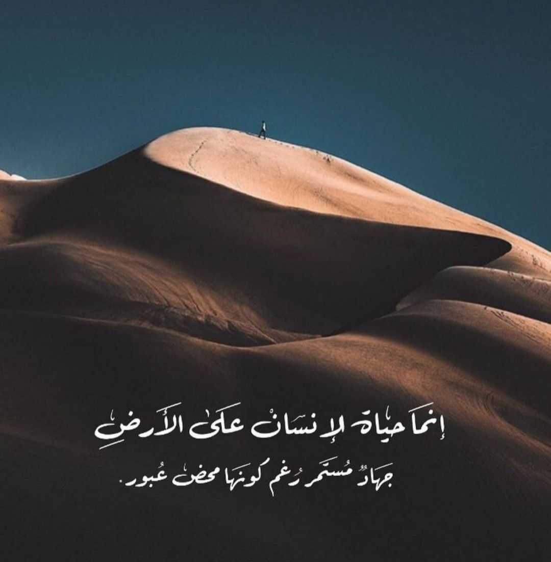 جهاد رغم كونها ممر عبور Cool Words Arabic Quotes Sweet Words