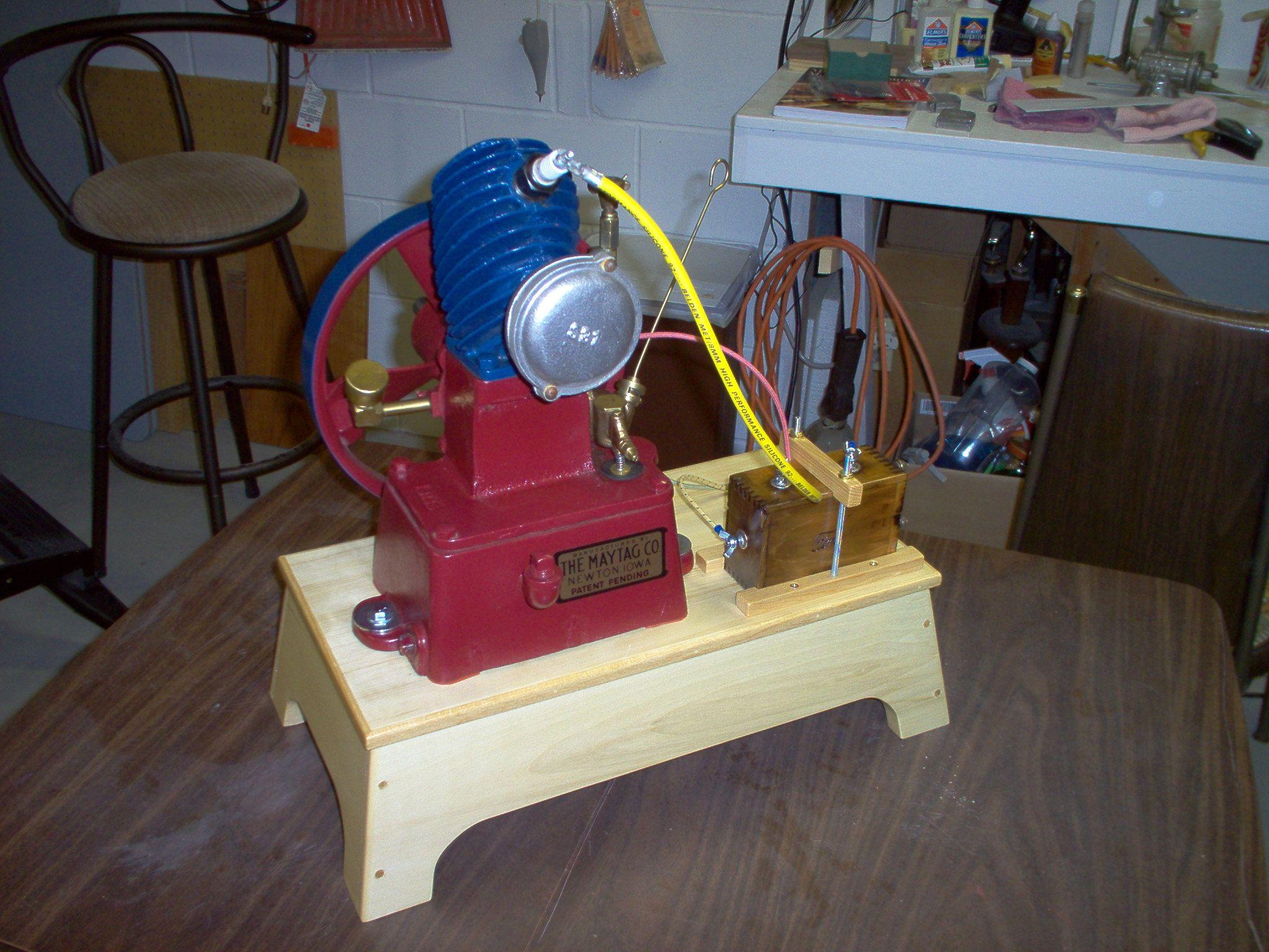 Vintage Maytag Upright Single Cylinder Washing Machine