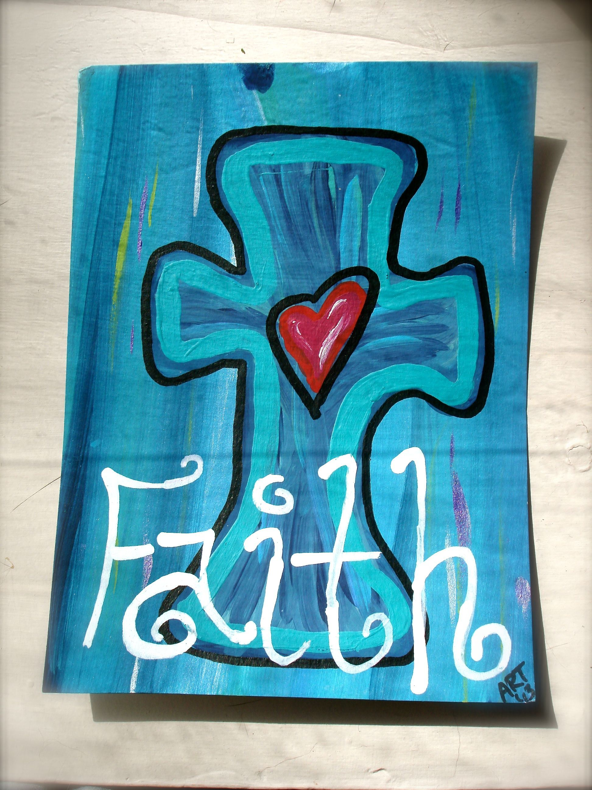 Faith By Amanda Rockwell Trumbull