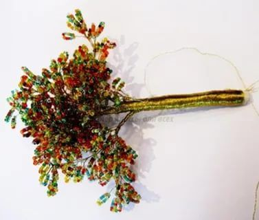деревья из бисера мастер класс с пошаговым фото: 25 тыс ...