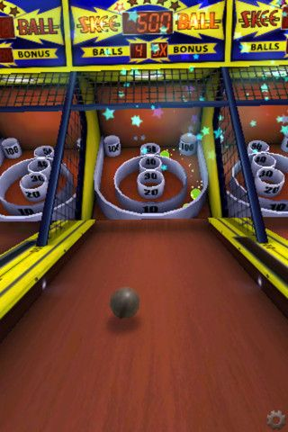 Freeverse skee ball prizes