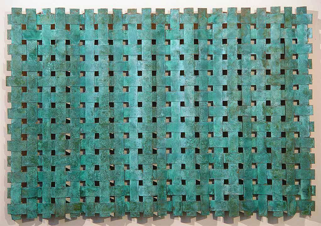 Outdoor Metal Wall Art Weaving > Outdoor Copper Wall Art > Woven ...