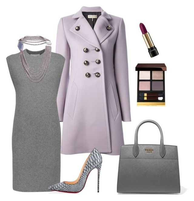 """""""When Skies are Gray"""" by arta13 on Polyvore featuring Emilio Pucci, Alexander Wang, Giorgio Armani, Prada, Christian Louboutin, Lancôme and Tom Ford"""