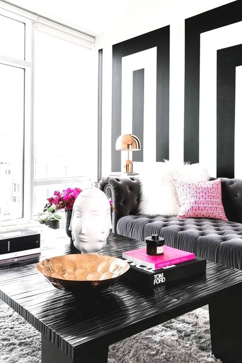 Discover Modern Home Decor Ideas With A Black And White Theme Smalllivingrooms