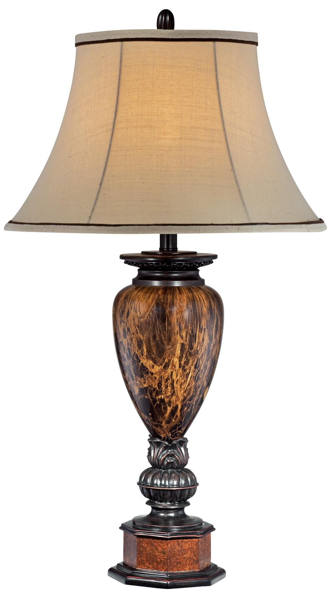Kathy Ireland Collection Bronze Table Lamp