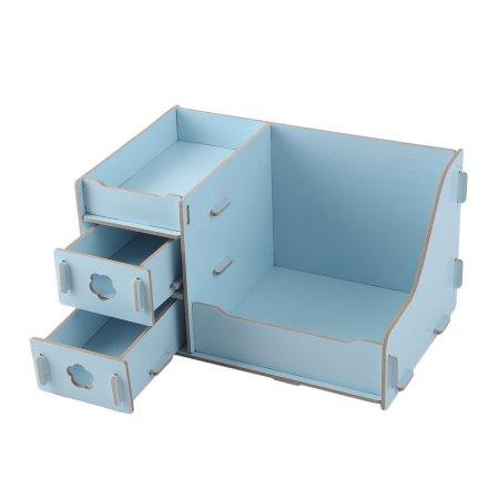 Cnmodle Multi Functional Wooden Desktop Box Drawer Type Multi