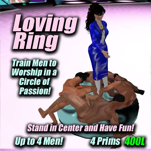 The Loving Ring At Future Femdom In Second Life Watch Men Work Together To Worship You