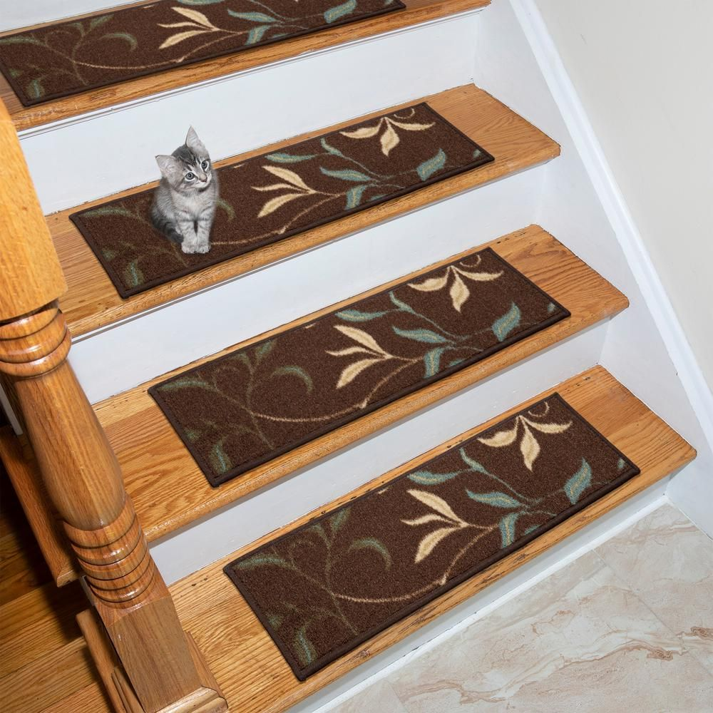 Best Ottomanson Ottohome Collection Chocolate 9 In X 26 In 640 x 480