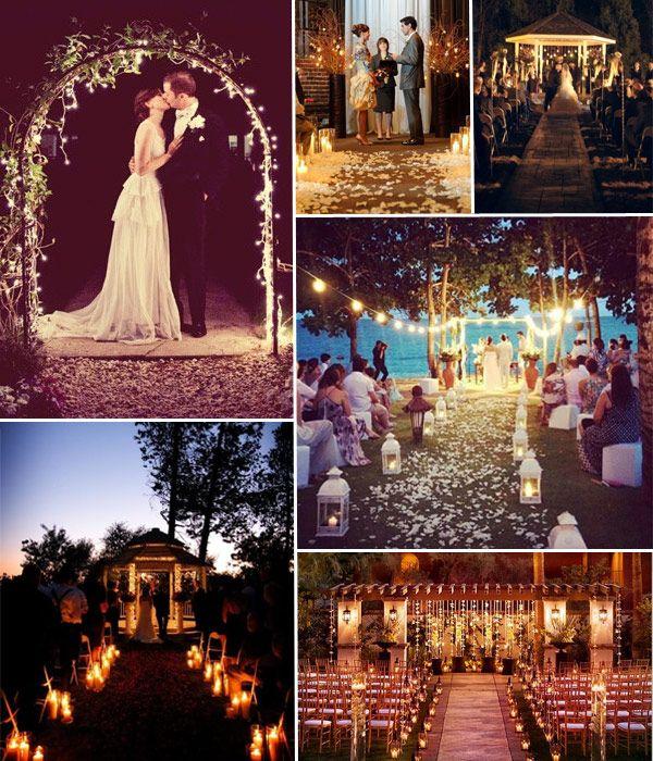 Evening Wedding Ideas And Inspiration
