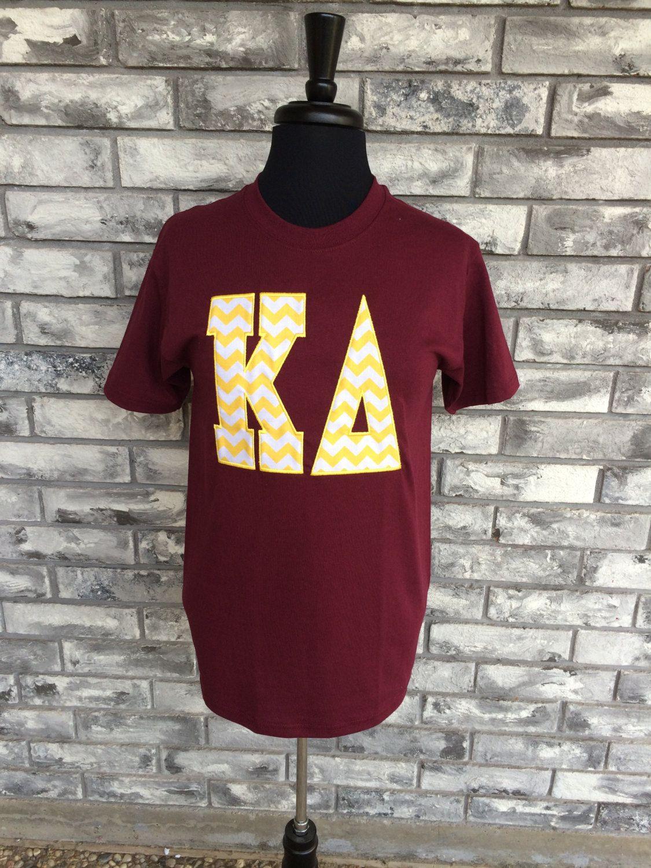 Sorority Shirts/ Sorority Applique Shirts/ Applique Shirts/ Greek Shirts/ Greek Applique Shirts by monogramcentralLA on Etsy