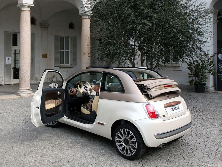 Ready To Climb Aboard This Fiat 500c Sassicaia Limited Edition