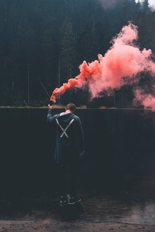 True Colors Smoke Fotografia Fotografia De Humo Fotos Tumblr