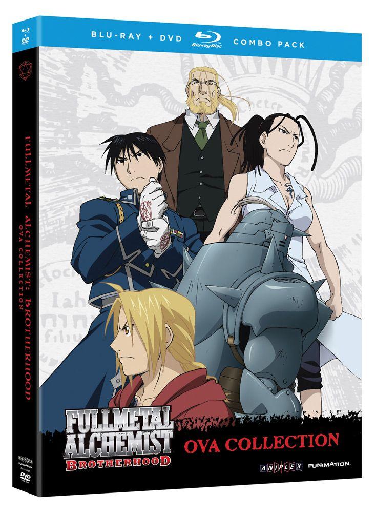 Fullmetal Alchemist: Brotherhood OVA Collection DVD/Blu ...