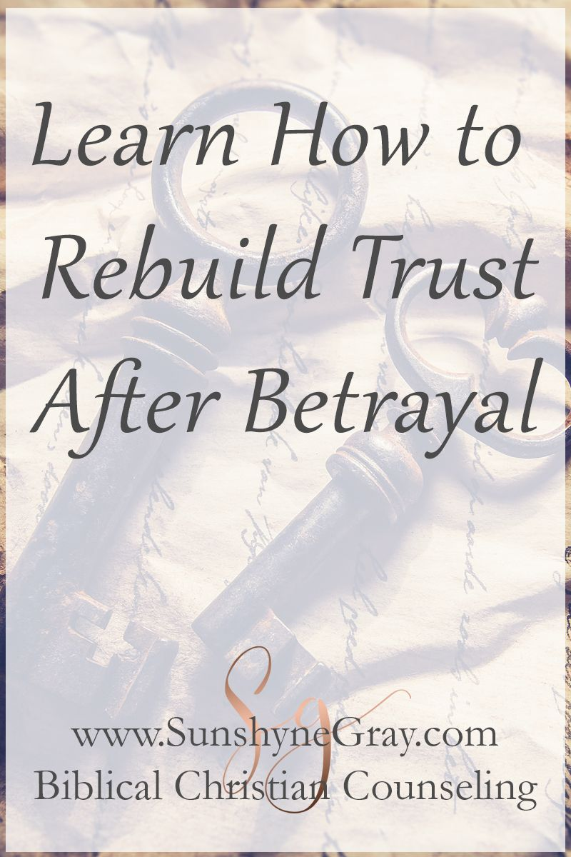 Learning to trust after betrayal