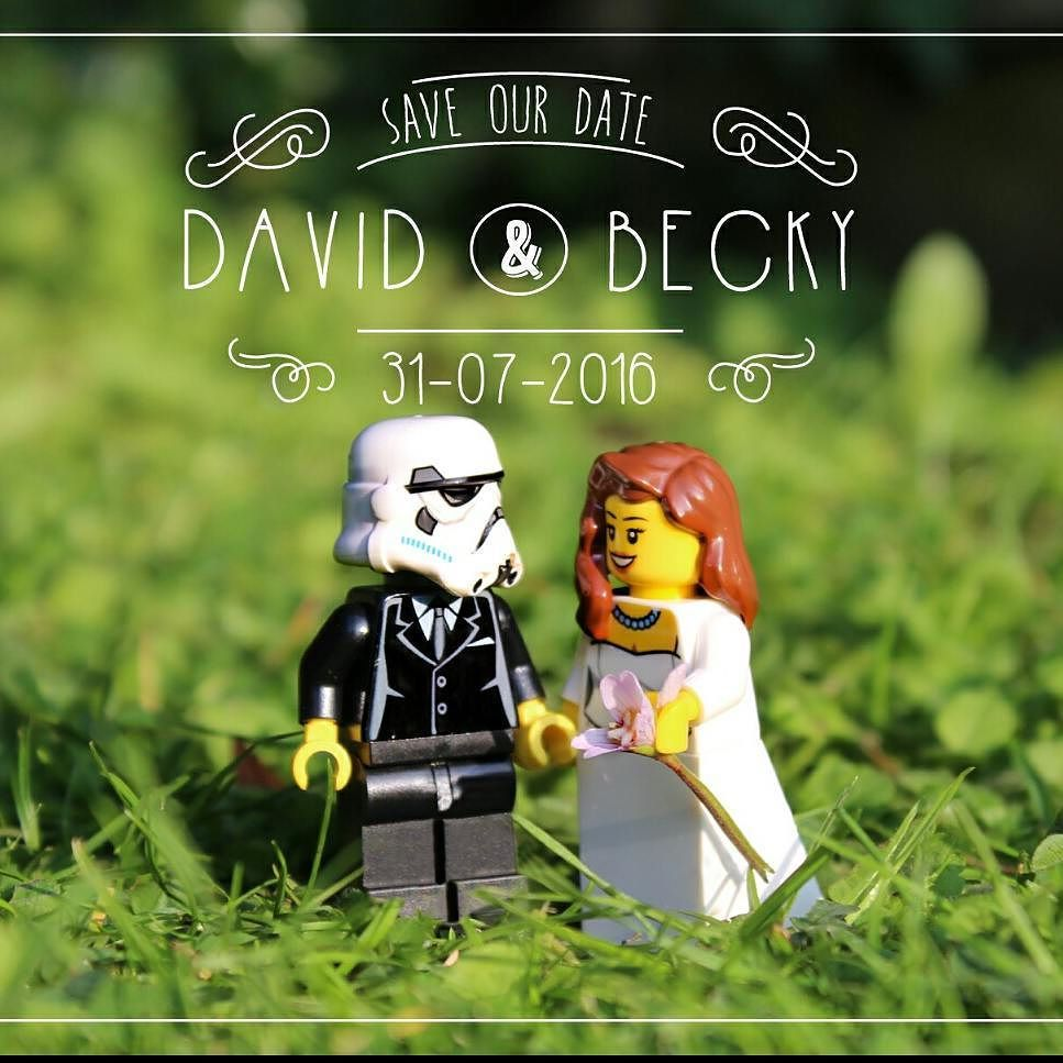 Hey Everyone Check Out My Star Wars Inspired Save The Dates