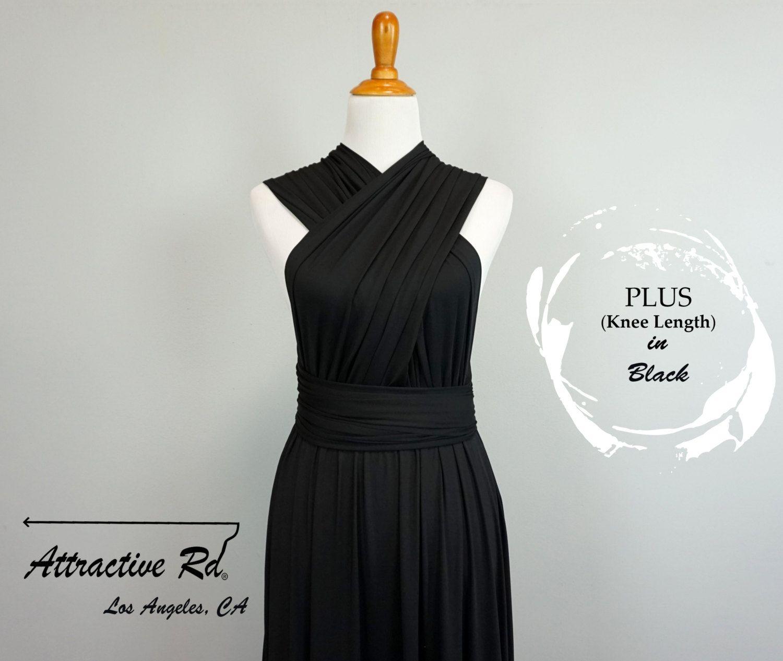 Black dress dark dresses short dress prom dress plus size dress