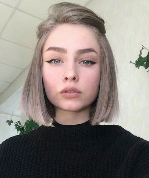 22 Cute Short Hairstyles For Teenage Girl 2019 Bafbouf In 2020 Hair Styles Short Hair Styles Thick Hair Styles