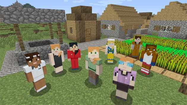 Minecraft Launches Alex The First Girl Character Minecraft How To Play Minecraft Minecraft S
