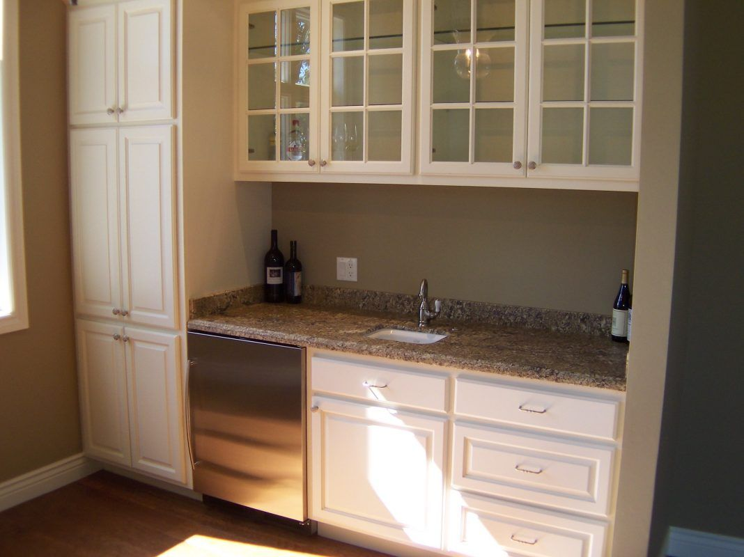 Beautiful Frosted Glass Kitchen Cabinet Doors Design Ideas