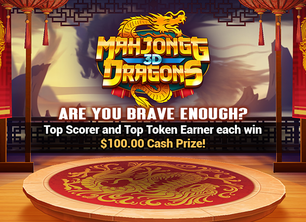 Play Mahjongg 3D Dragons online for free at PCHgames Pch