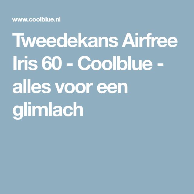 Tweedekans Airfree Iris 60 - Coolblue - alles voor een glimlach ...