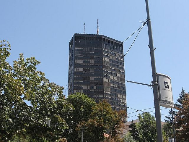 Zgrada Beograđanka Belgrade Architecture