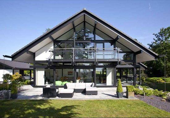 Five Bedroom Modernist Huf Haus In Burcot Near Bromsgrove Worcestershire House Pinterest