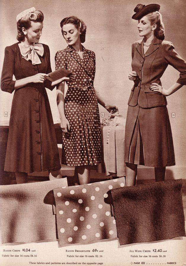 Sr 44 35 estilo 1940 id ias de moda e estilo dos anos 40 for Mobilia anos 40