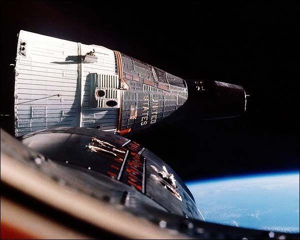 Gemini 6 and Gemini 7 Rendezvous NASA Photo Print for Sale