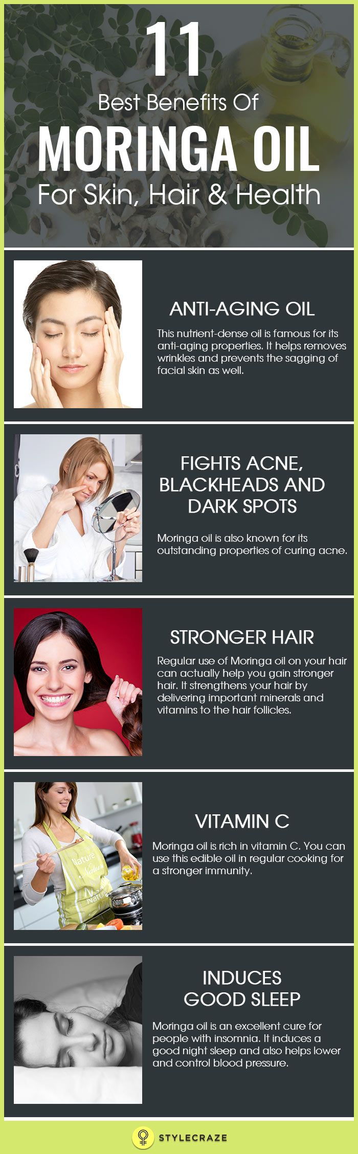 Moringa Oil Skin Benefits recommendations