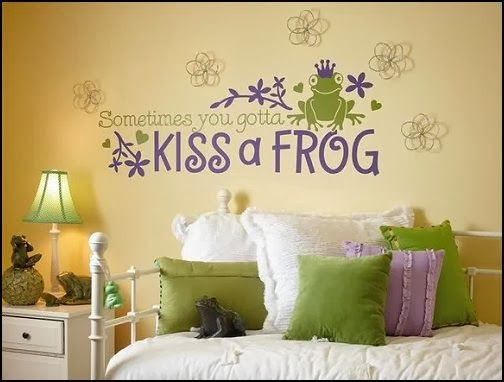 Princess And The Frog Room Decor Decorating Theme Bedrooms